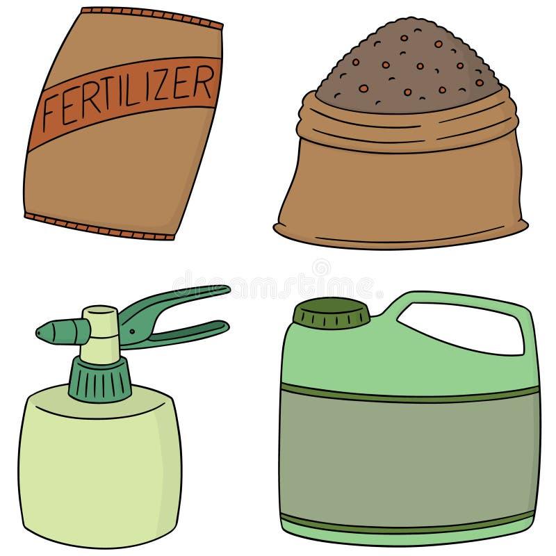 传染媒介套肥料 向量例证