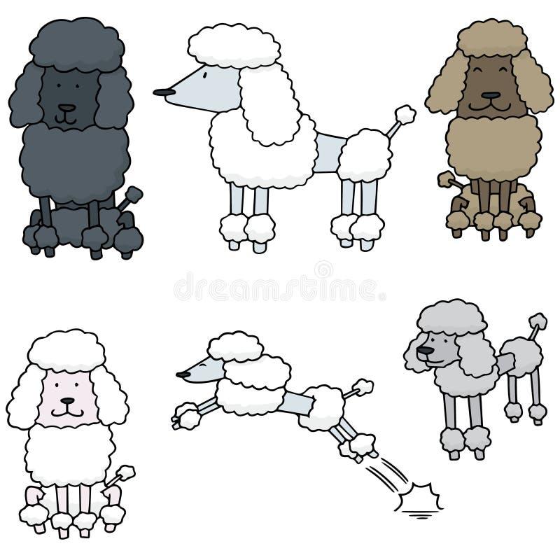传染媒介套长卷毛狗 向量例证