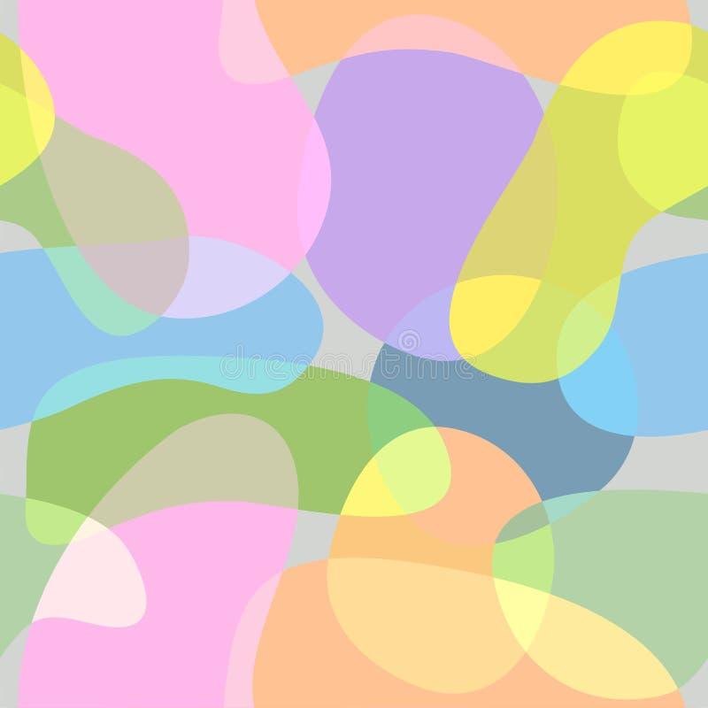 传染媒介抽象背景,形状 向量例证