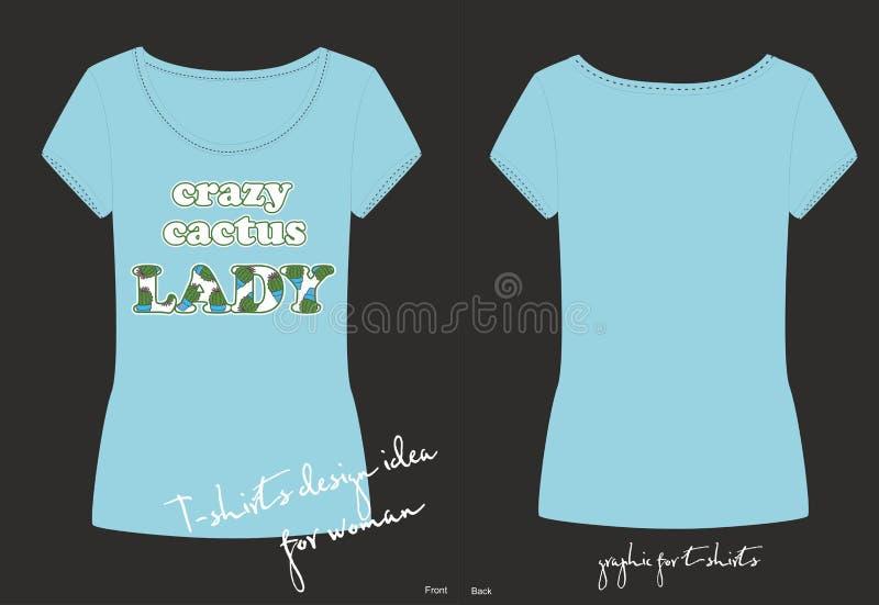 传染媒介摘要例证、时尚印刷品蓝色T恤杉的,睡衣或者另一件衣裳 库存照片