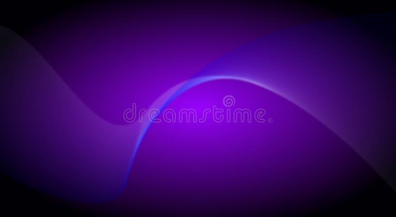 传染媒介摘要墙纸,背景纹理蓝色波浪 库存例证
