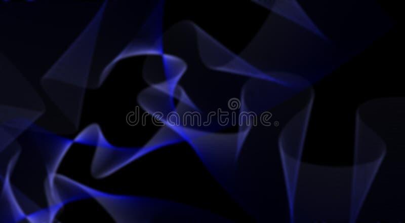 传染媒介摘要墙纸,背景纹理蓝色波浪 免版税库存照片