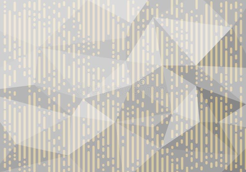 传染媒介摘要多角形样式 横幅、飞行物和夜党海报的白色背景 向量例证