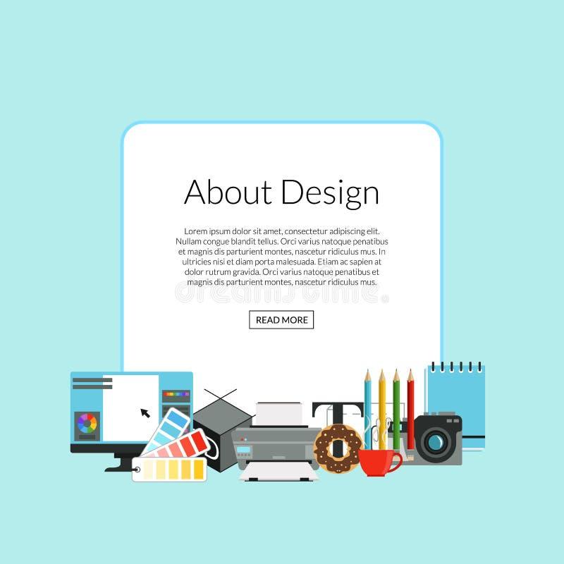 传染媒介数字式艺术设计象堆 向量例证