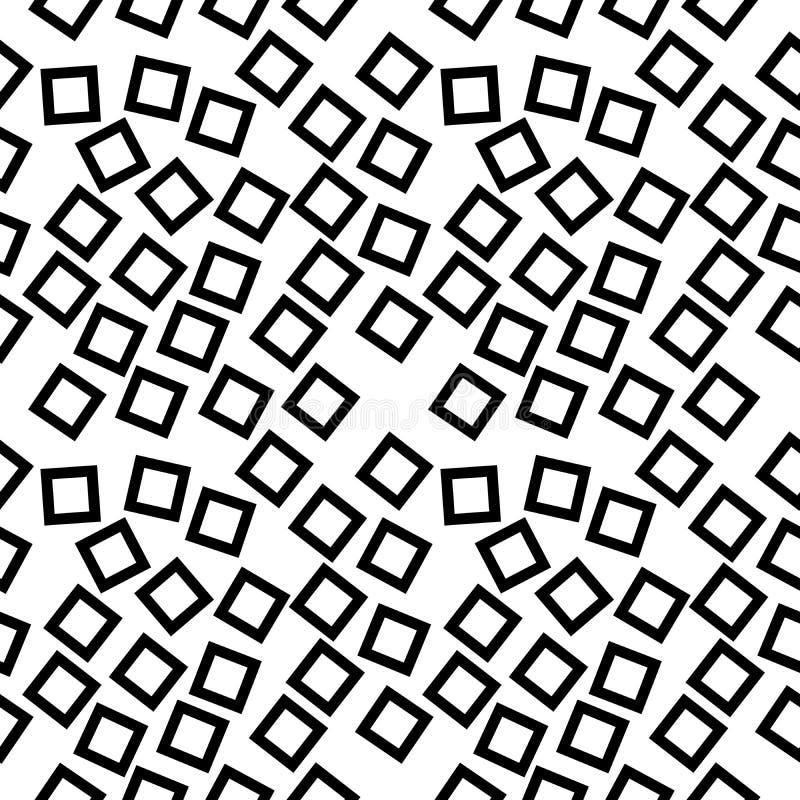 传染媒介无缝的黑白别针象样式背景 设计,盖子 向量例证