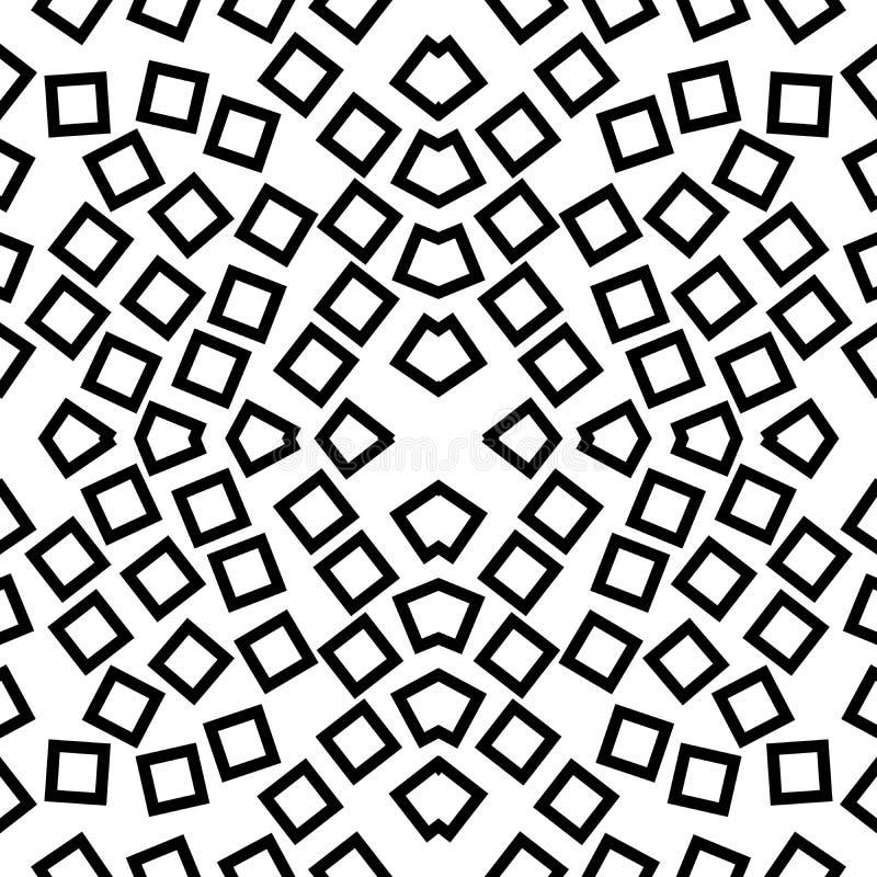 传染媒介无缝的黑白别针象样式背景 设计,盖子 皇族释放例证