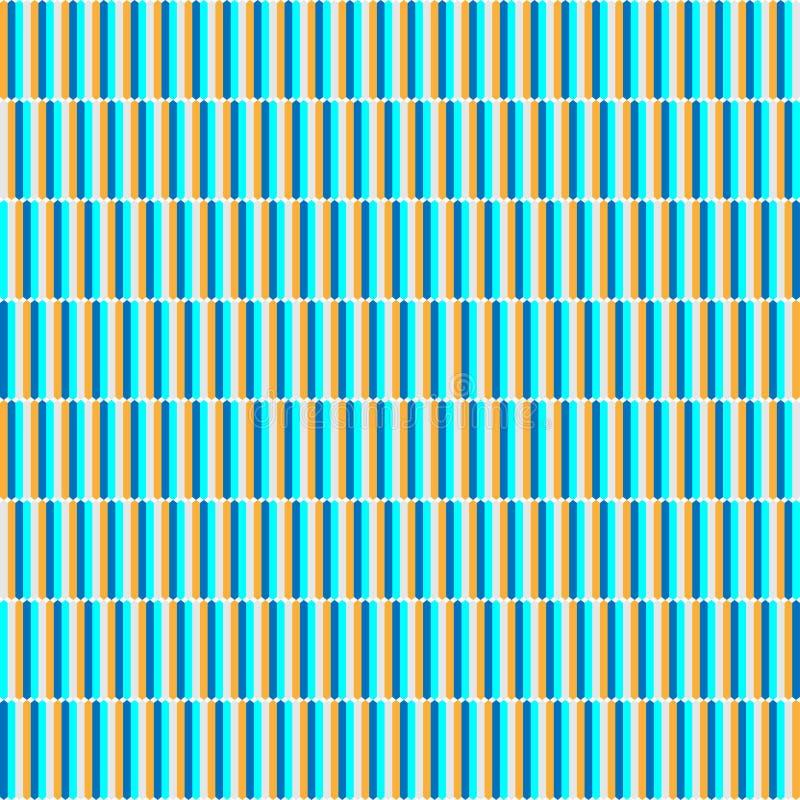 传染媒介现代无缝的多色样式 向量例证