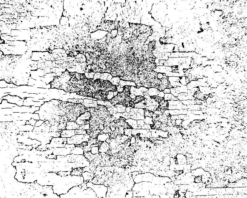 传染媒介破裂的纹理 向量例证