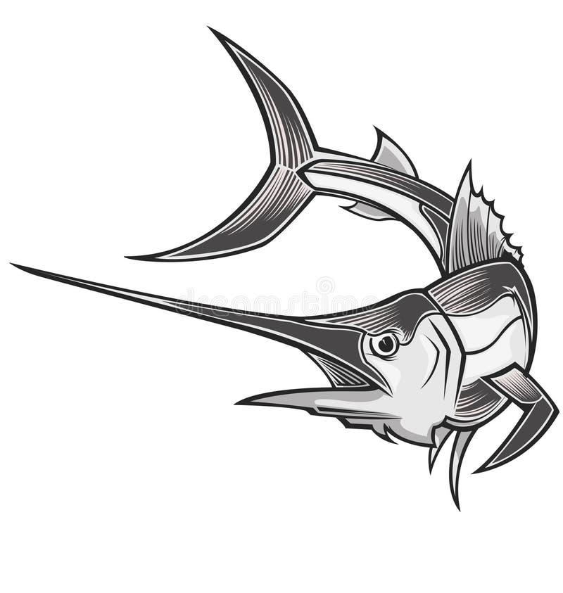 传染媒介箭鱼 图库摄影