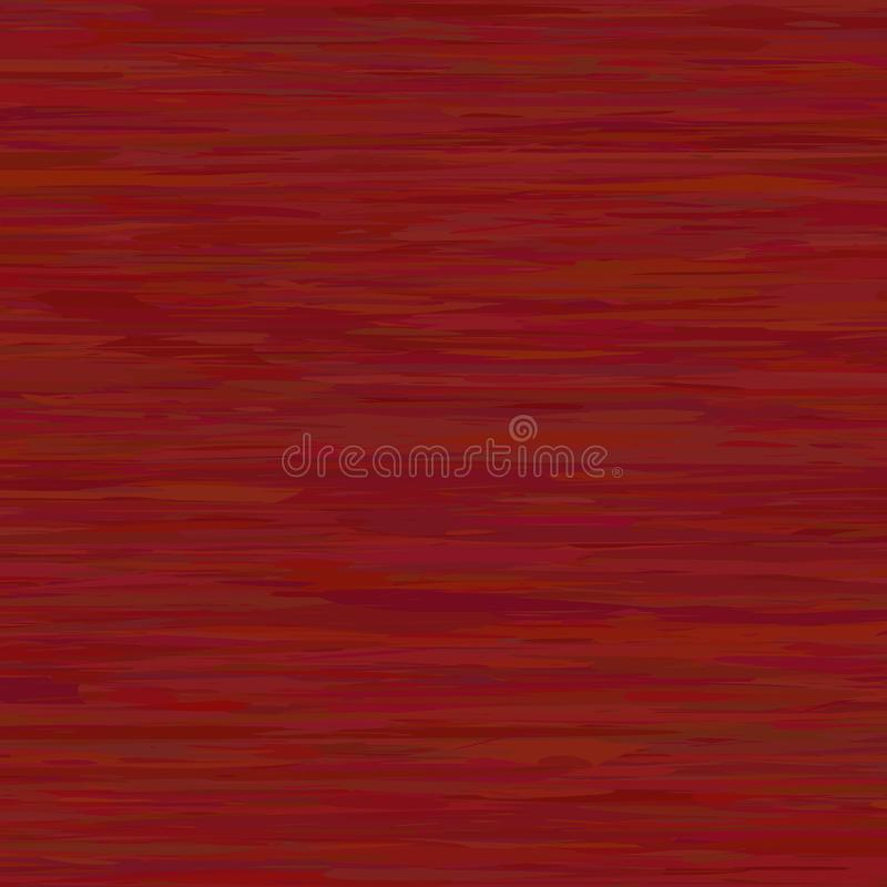 传染媒介红色木纹理 库存图片
