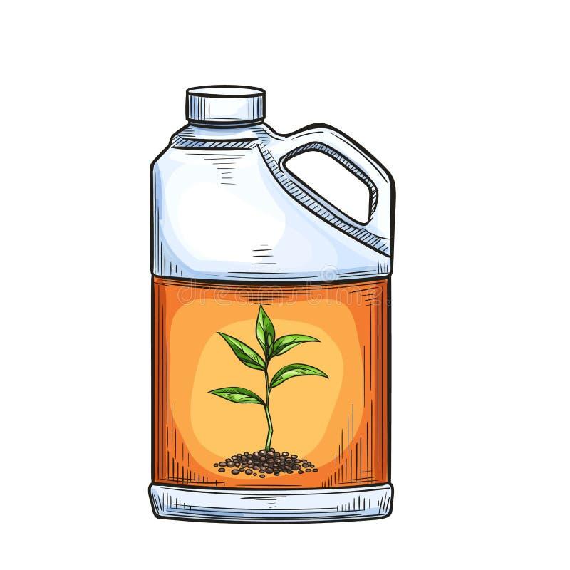 传染媒介肥料象 向量例证