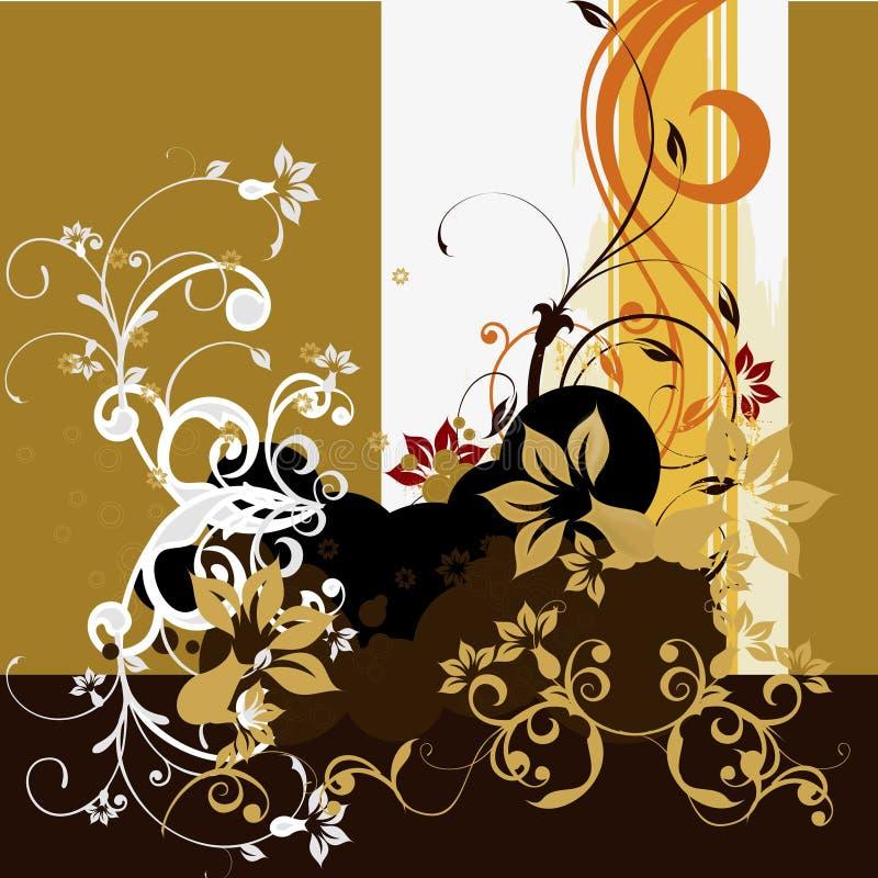 传染媒介花无缝的样式背景 背景的典雅的纹理 古典豪华古板的花饰, seamle 皇族释放例证