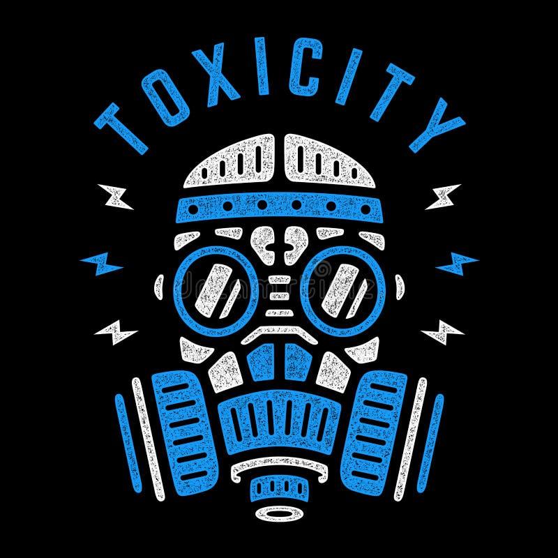 传染媒介蓝色人工呼吸机 向量例证