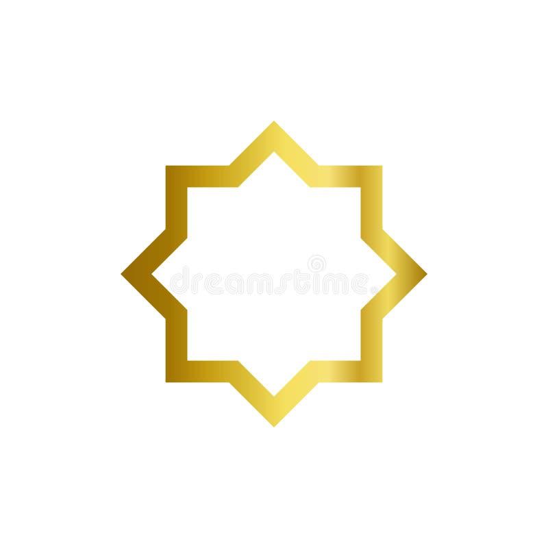 传染媒介装饰设计模板的线艺术框架 r 库存例证