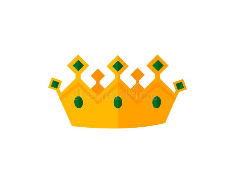 传染媒介金冠 皇族释放例证