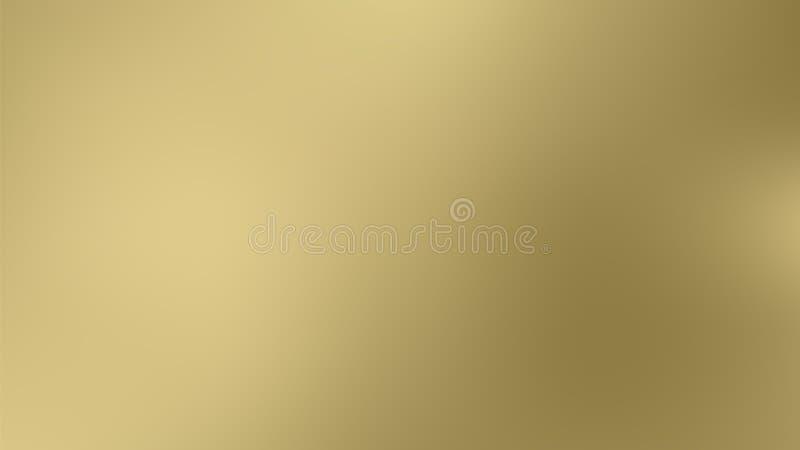 传染媒介金子被弄脏的梯度样式背景 抽象光滑的五颜六色的例证,社会媒介贴墙纸 皇族释放例证