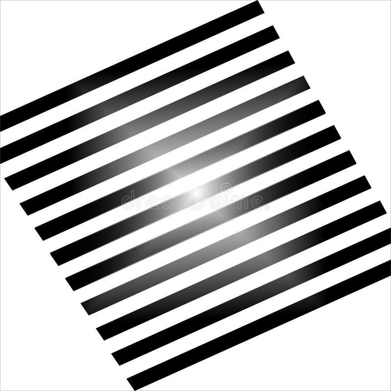 传染媒介黑白色无缝的样式设计 向量例证