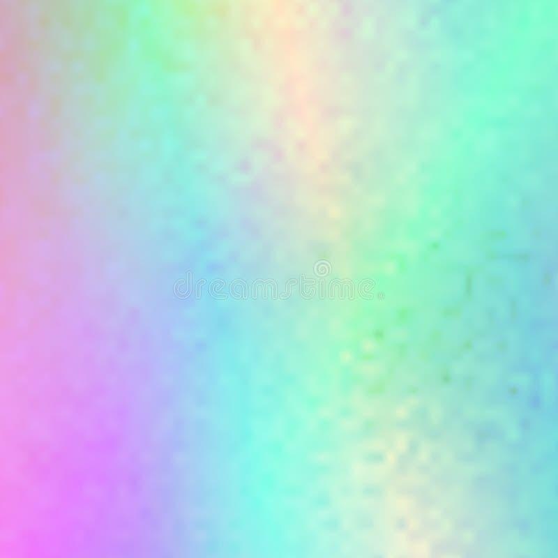传染媒介abstrat被弄脏的全息照相的背景 库存例证