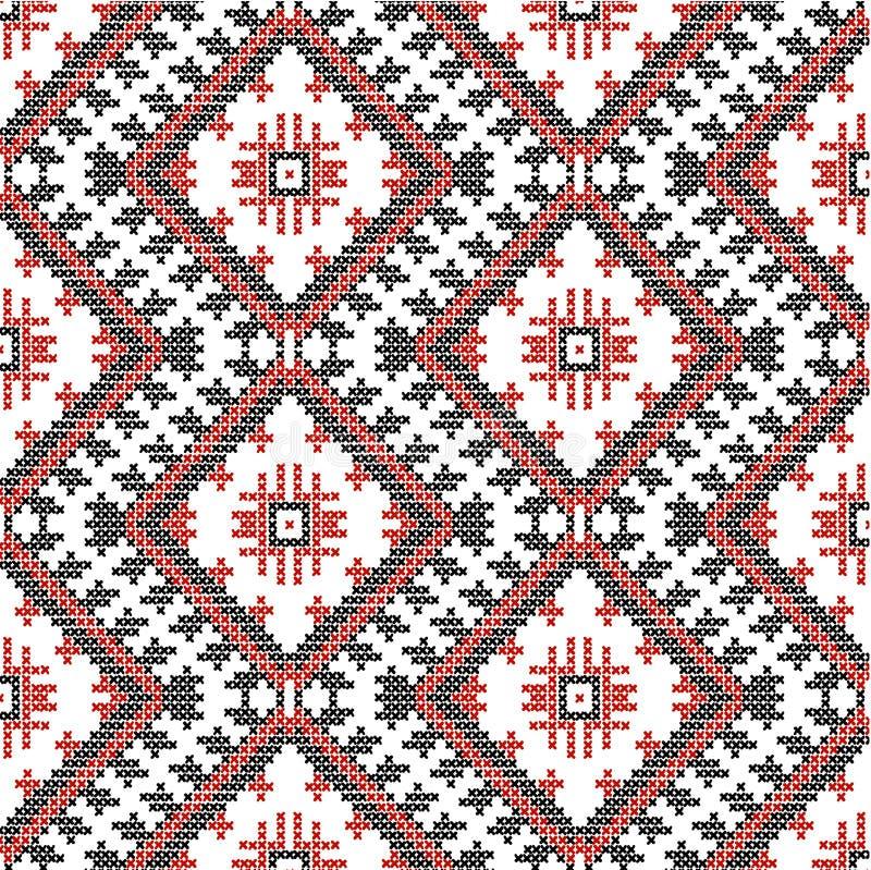传染媒介乌克兰全国装饰品 向量例证