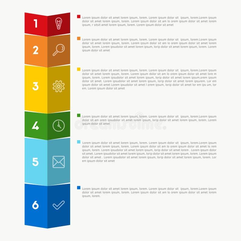 传染媒介五颜六色的图 向量例证