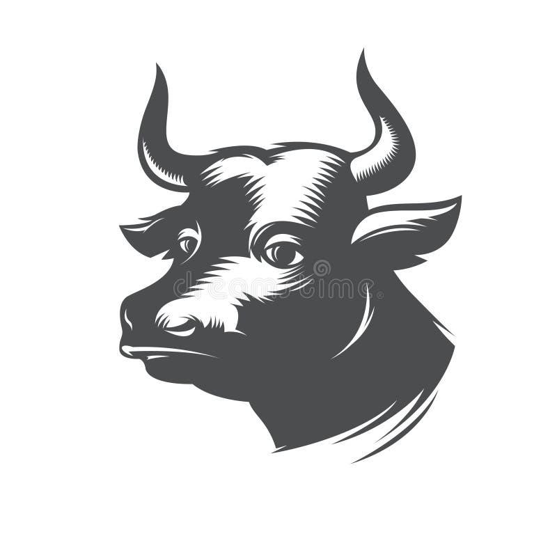 传染媒介公牛 向量例证