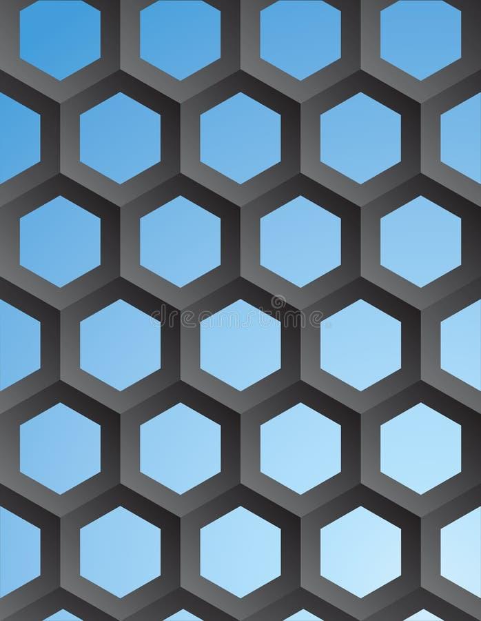 传染媒介几何抽象背景 向量例证
