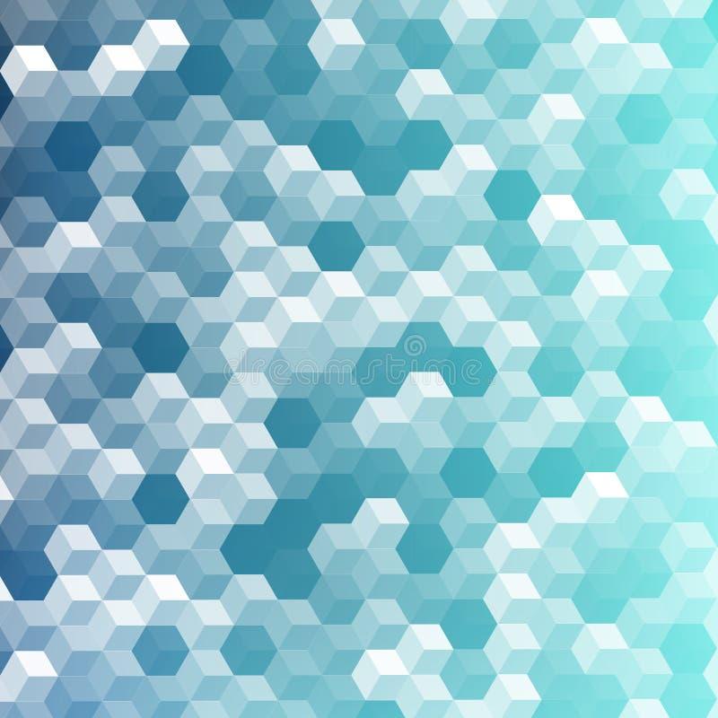 传染媒介几何样式纹理 皇族释放例证