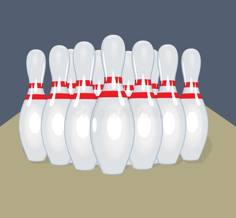 传染媒介别针 可实现轻快优雅的例证 前浆手 库存例证