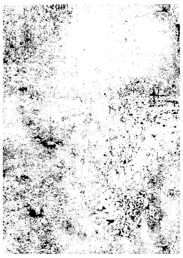 传染媒介刷子冲程纹理 库存例证