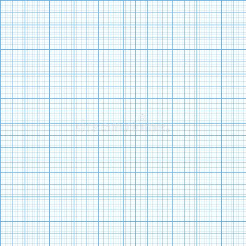 传染媒介图表毫米纸无缝的样式 皇族释放例证