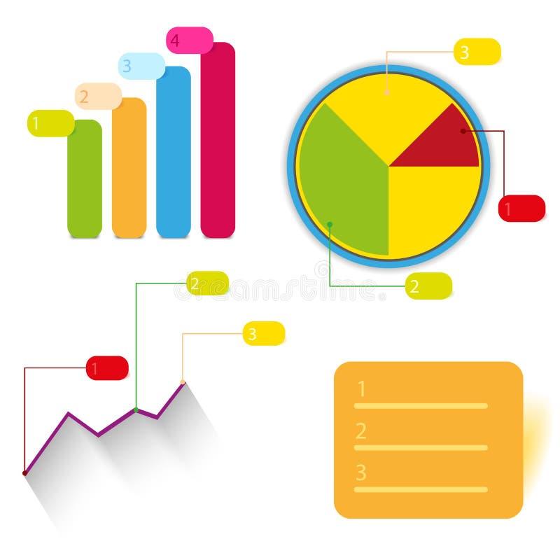 传染媒介图表设计信息图表 库存例证