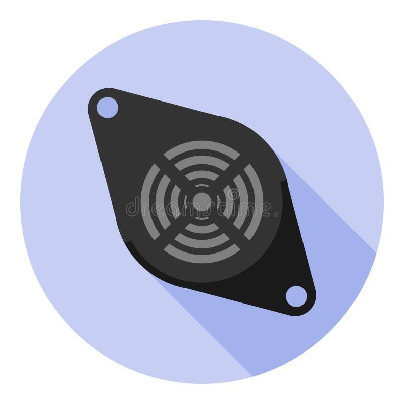 传染媒介图象寻呼机 向量例证