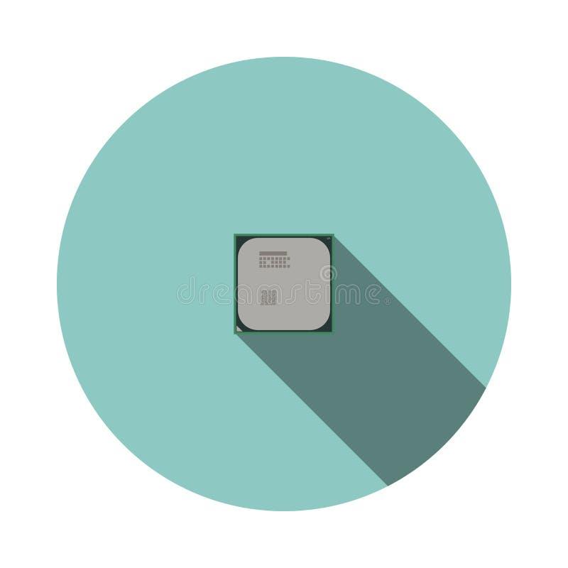 传染媒介图象CPU 皇族释放例证