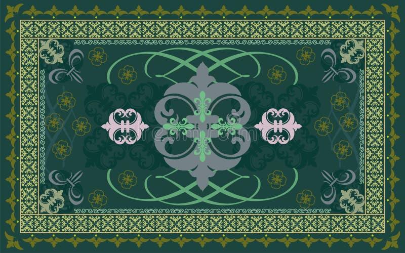 传染媒介地毯样式 皇族释放例证