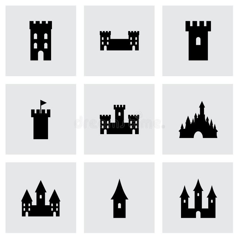 传染媒介城堡象集合 皇族释放例证
