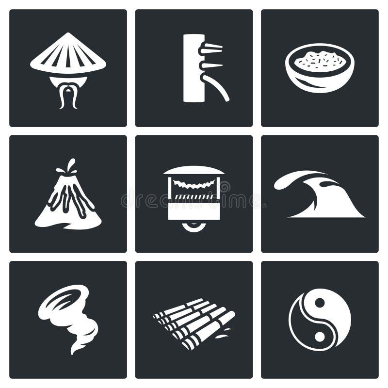 Download 传染媒介套越南象 向量例证. 插画 包括有 人们, 生活, 要素, 体育运动, 剧变, 木筏, 波儿地克的 - 72357295