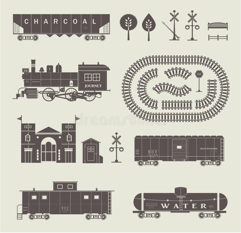 Download 传染媒介火车集合 向量例证. 插画 包括有 汽油, 支架, 例证, 符号, 汽车, 储水池, 减速火箭, 交叉 - 30329154