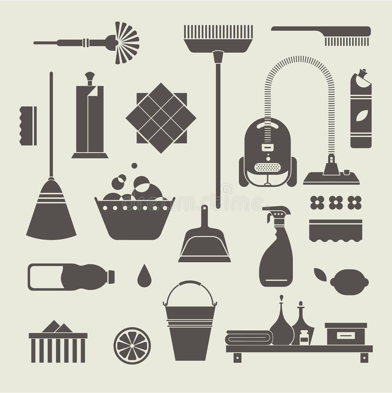 Download 清洁象 向量例证. 插画 包括有 有益健康, 设备, 拖把, 橡胶, 图标, 产品, 容器, 卫生学, 新鲜 - 30329120