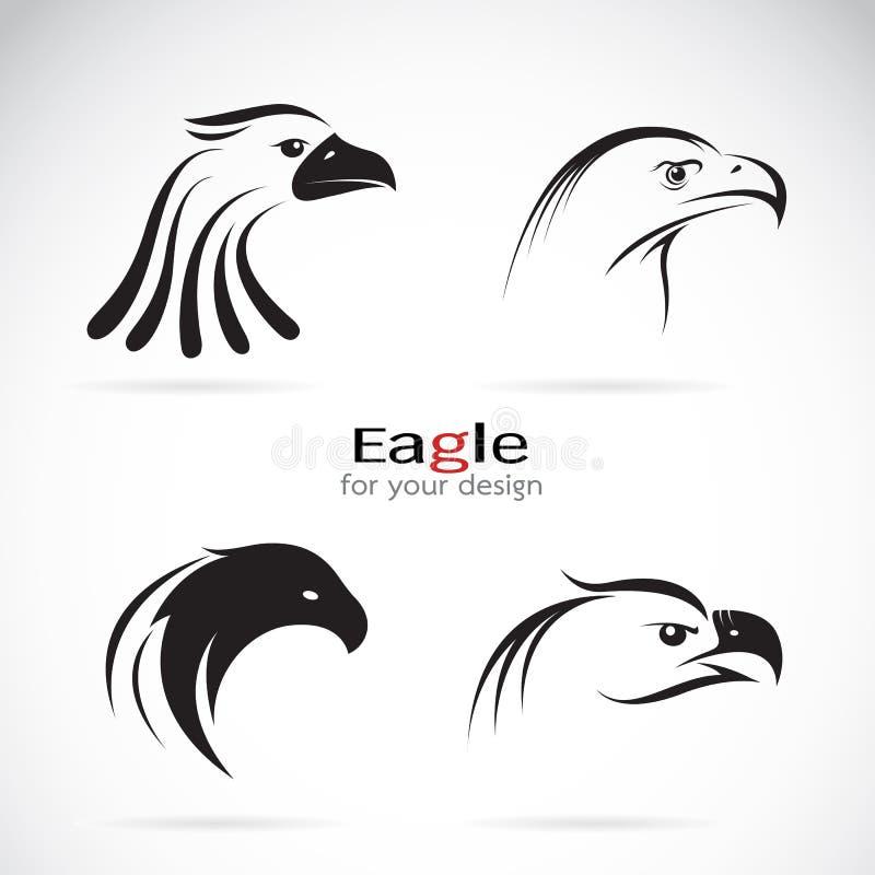 传染媒介小组老鹰头设计 皇族释放例证