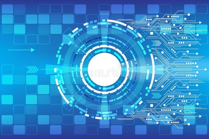 传染媒介技术的通信概念 免版税库存照片