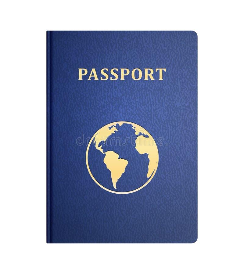 传染媒介护照 皇族释放例证