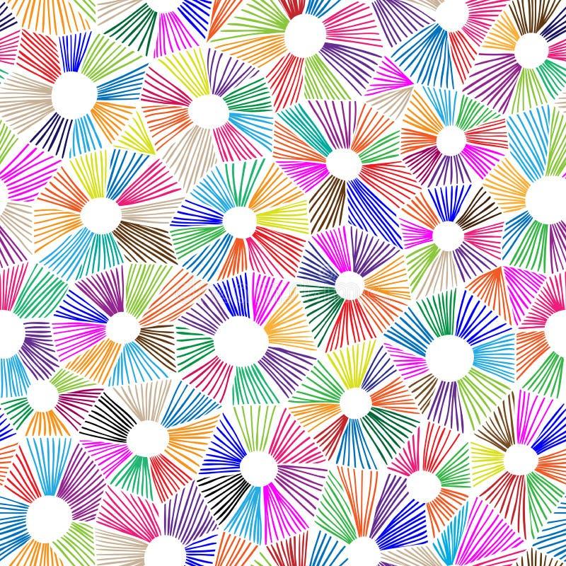 传染媒介抽象三角样式 皇族释放例证