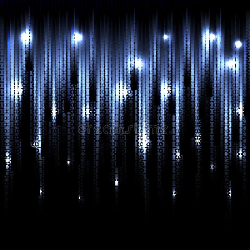 传染媒介抽象发光的背景 EPS10 向量例证