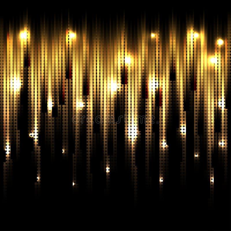 传染媒介抽象发光的背景 EPS10 库存例证
