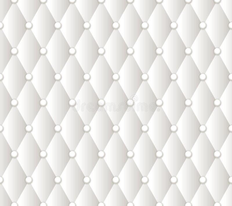 传染媒介抽象白色室内装饰品背景 库存例证