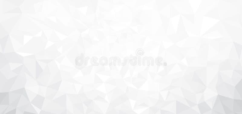 传染媒介抽象白色背景 向量例证