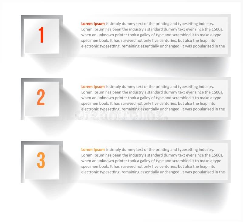传染媒介抽象背景。 Infographics横幅 向量例证
