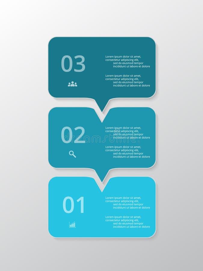 传染媒介排行infographic的箭头 向量例证