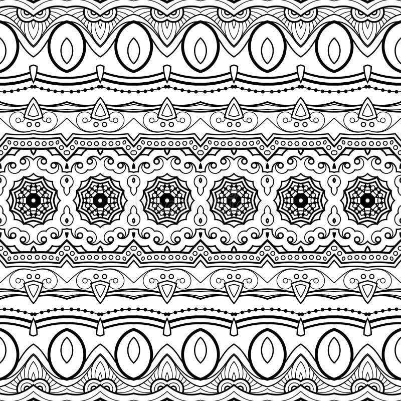 传染媒介无缝的单色锦缎样式 皇族释放例证