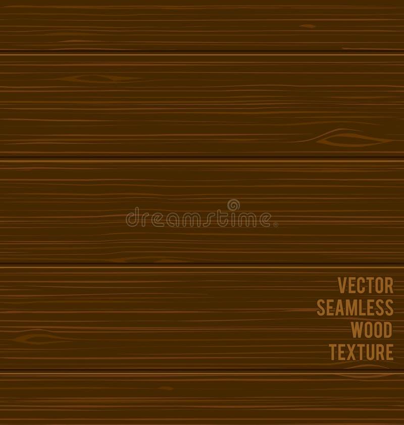 传染媒介无缝的木纹理 库存例证
